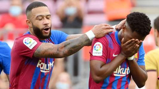 Barcelona: 10 months later, Ansu Fati celebrates his return with a goal