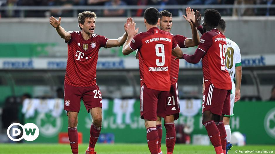 Despite the expulsion of Pavard, Bayern continues its victories and leads the German league |  Sports |  Reports and analysis of the most important sporting events from DW Arabic |  DW