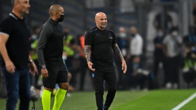 Photo of Lens: Sampaoli regrets the lack of control of his team!