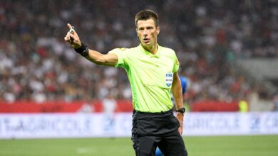 Photo of A referee subject to controversy for OM-PSG
