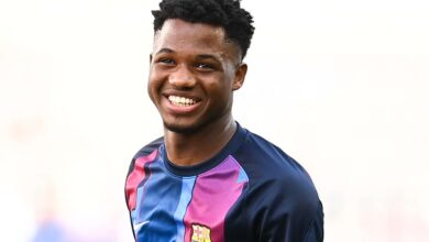 Photo of Ansu Fati's agent spotted in Barcelona