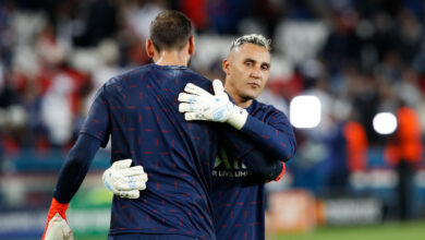 Photo of Asked about Donnarumma, Navas gets angry!