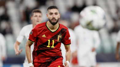 """Photo of Belgium: a defeat with a """"bitter taste"""" for Yannick Carrasco"""