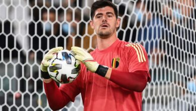 Photo of Courtois' rant against UEFA and FIFA
