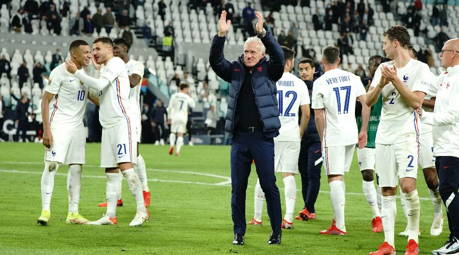 Deschamps impressed by his players
