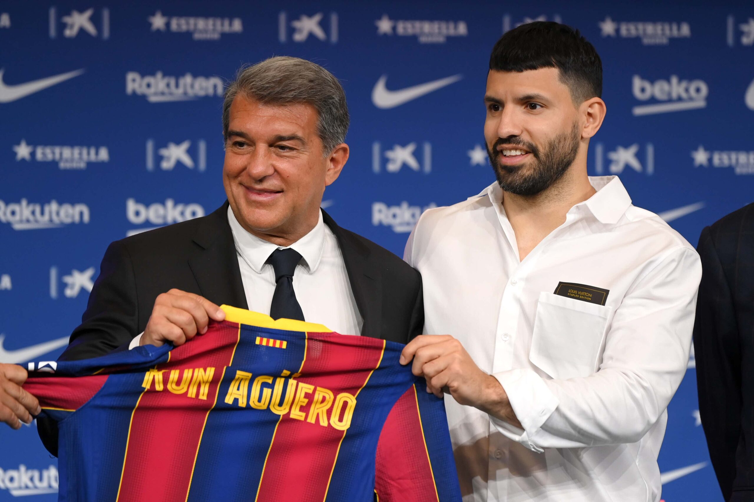 """FC Barcelona: Sergio Aguero does not """"regret"""" his choice"""