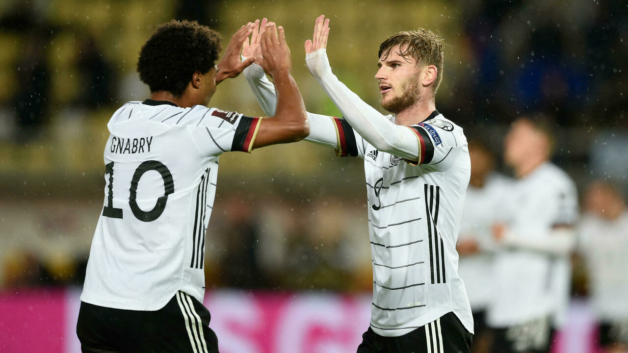 Germany, first to qualify after victory in North Macedonia