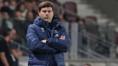 """Photo of Mauricio Pochettino after PSG's first defeat in Rennes: """"Bitter and disappointed"""""""