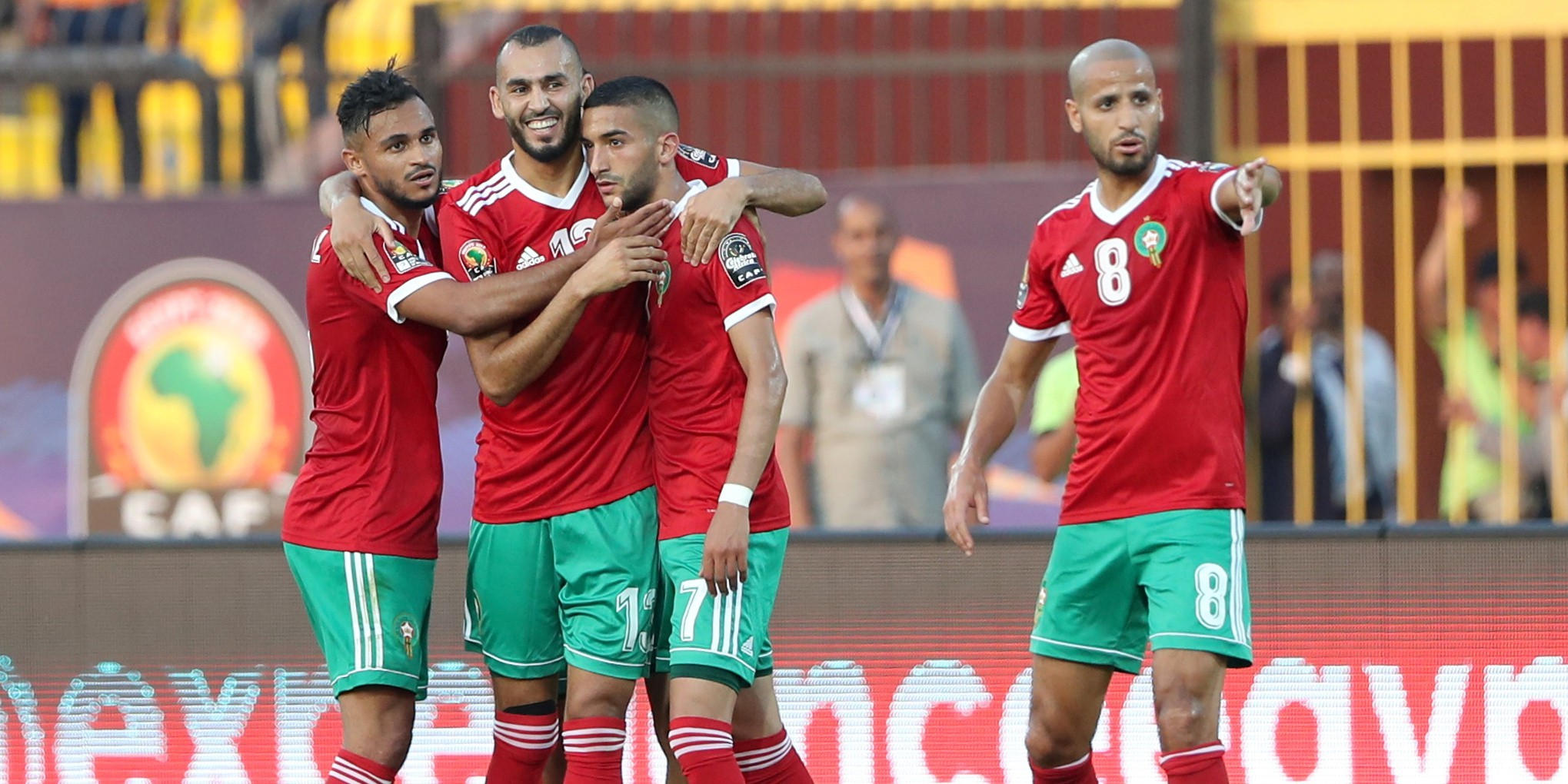 Morocco and Senegal received three out of three