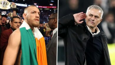 Photo of Mourinho and McGregor, the incredible meeting