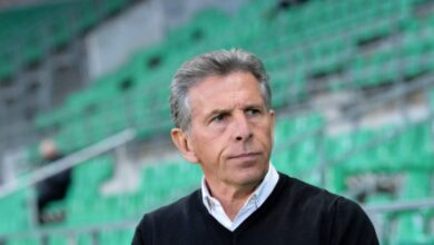 Photo of Puel saved his head