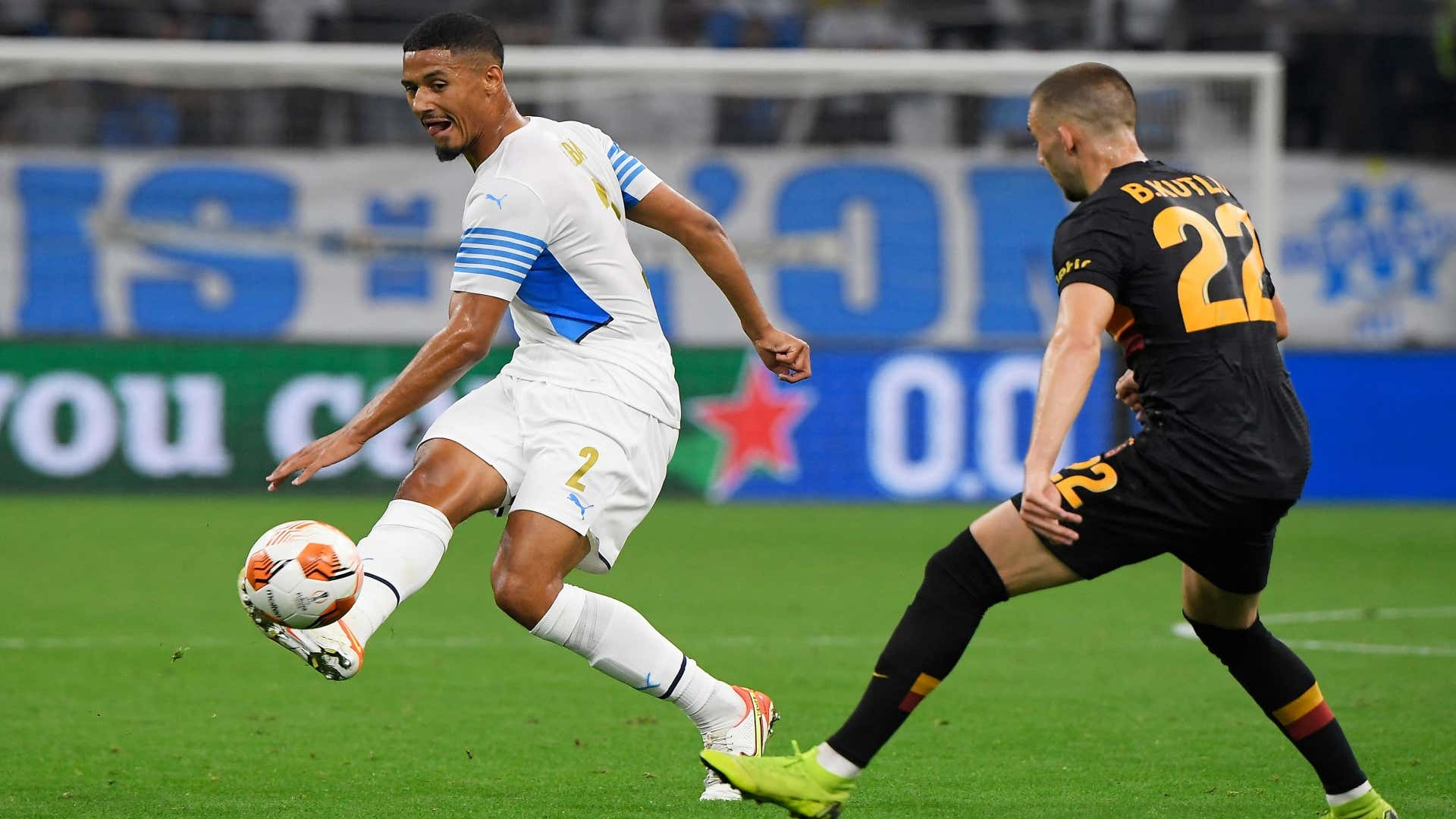Saliba judges his start to the season at OM and with the France Espoirs team