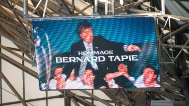 Photo of Tapie, the superb tribute of the Vélodrome