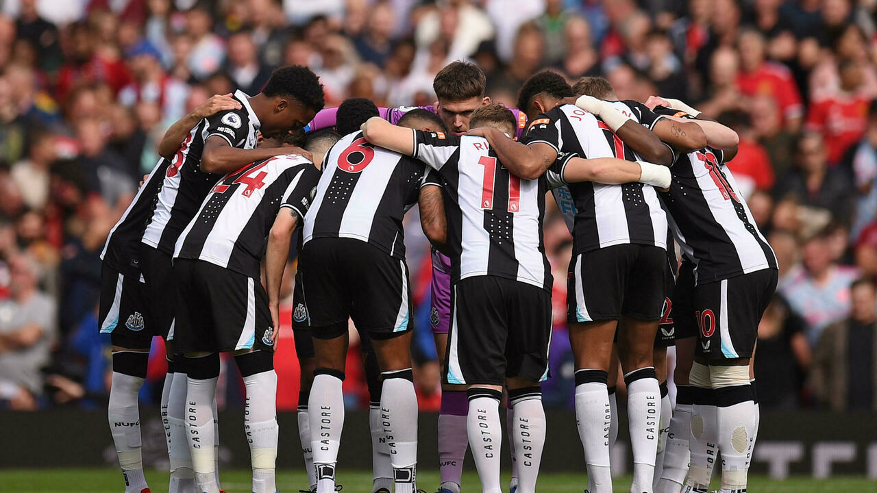 The English club Newcastle officially bought by a Saudi fund