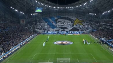 Photo of The superb tribute of the Vélodrome to Tapie