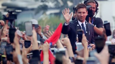 Photo of When Messi is out in Paris (video)