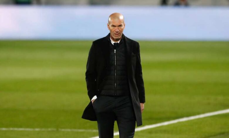 Photo of Zidane takes it for his rank!