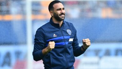 Photo of big first for Adil Rami!