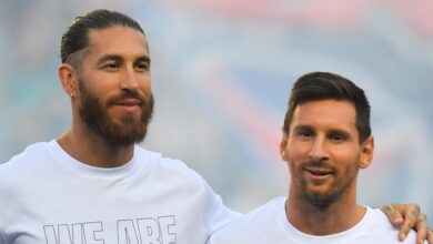 Photo of the brilliant reflection of Messi on his ex-Merengue teammates